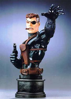Bowen Designs Nick Fury Stealth Mini Bust